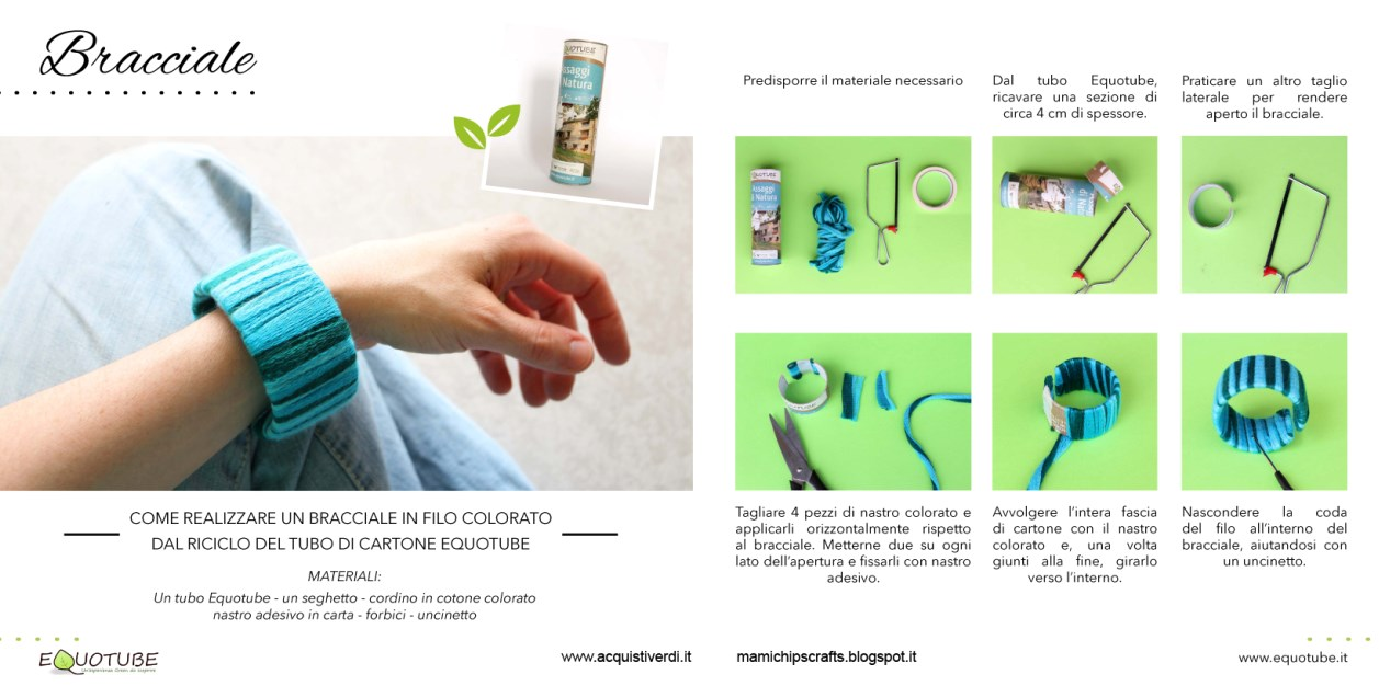 Equotube_bracciale_riciclo_creativo