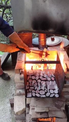 Corso ceramica Raku presso Il Bosco delle Terrecotte