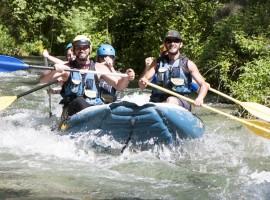 Rafting e tiro con l'arco con A.S. Gaia