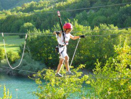 Parco Avventura Lago di Fiastra con A.S. Gaia